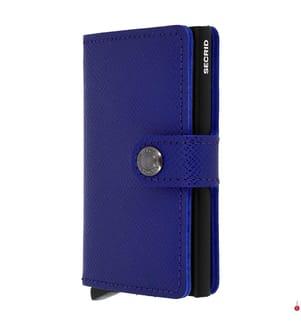 SECRID - Portemonnaie Crisple - Blau und Schwarz