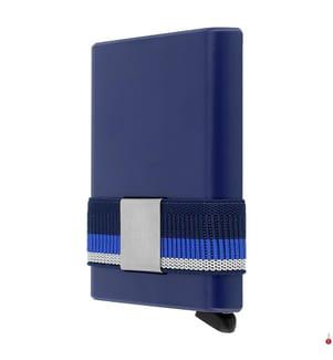 SECRID - Kartenetui Cardslide - Blau