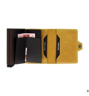 SECRID - Portemonnaie TwinWallet - Gelb