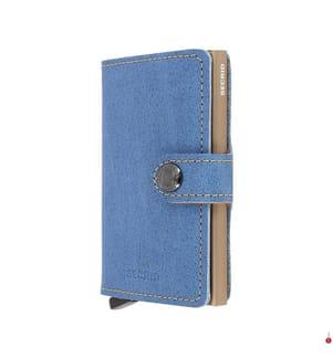 SECRID - Portemonnaie Miniwallet - Blau