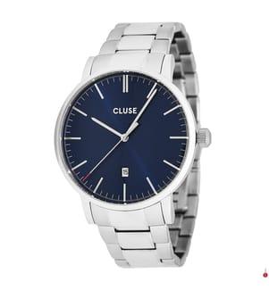 CLUSE - Armbanduhr Aravis - Silber