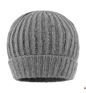 WOOLRICH - Beanie Country Tweed, Grau