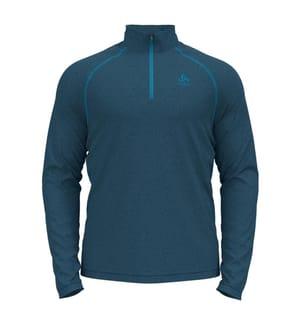 Fleece-Pullover Rigi - Marinblau