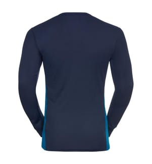 Sport-Ensemble Leggings und T-Shirt - Blau und Marinblau