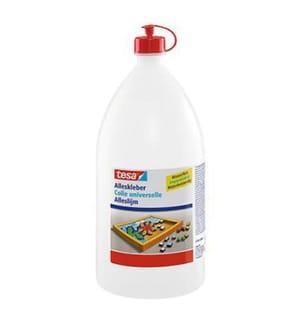 Tesa® - Klebezettel, Marker, 20 x 50mm, 4 x 40 Blatt, transparent