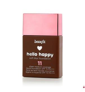 BENEFIT - BENEFIT - Flüssige Foundation Hello Happy #11 Dark Neutral SPF 15 - 30 ml
