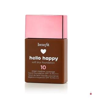 BENEFIT - BENEFIT - Flüssige Foundation Hello Happy #10 Deep Warm SPF 15 - 30 ml