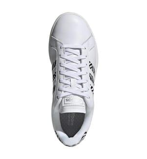 Sneakers Grand Court Base - Weiss und Schwarz