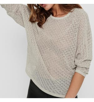 ONLY - Pullover Noos - Cremeweiss