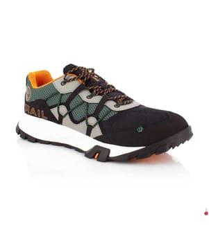 TIMBERLAND - Trail Running-Schuhe Garrison - Dunkelgrün und Schwarz