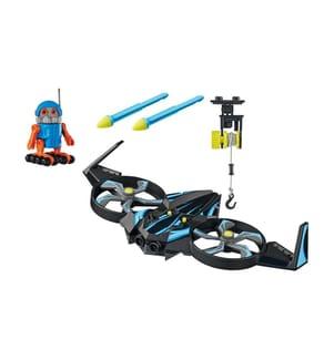PLAYMOBIL - THE MOVIE Robotitron mit Drohne - 70071