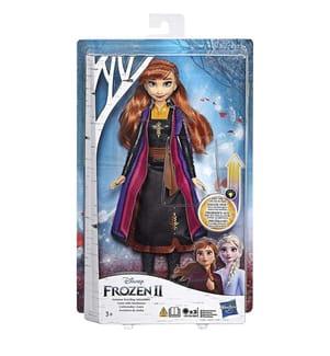 HASBRO - Disney Frozen 2 - Poupée Anna Robe - 26 Cm