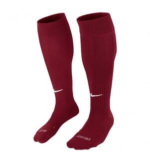 NIKE - Hohe Socken Classic 2 - Bordeaux und Weiss