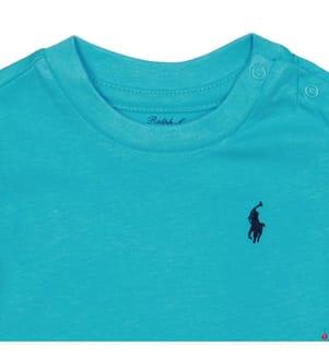 RALPH LAUREN - T-Shirt Small Pony - Türkis