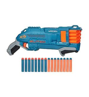 HASBRO - Nerf - Pistolet Elite 2.0 Warden - Bleu