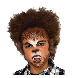 SMIFFYS - Make-Up FX, Kids Werewolf Kit, Aqua