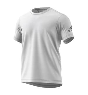 ADIDAS - T-Shirt Freelift Tech Weiss