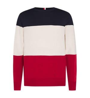 TOMMY HILFIGER - Pullover Colour-Block - Multicolor