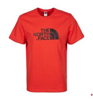THE NORTH FACE - T-Shirt Easy - Rot und Schwarz