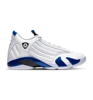 JORDAN - Sneakers Air 14 Retro Hyper Royal - Weiss und Blau