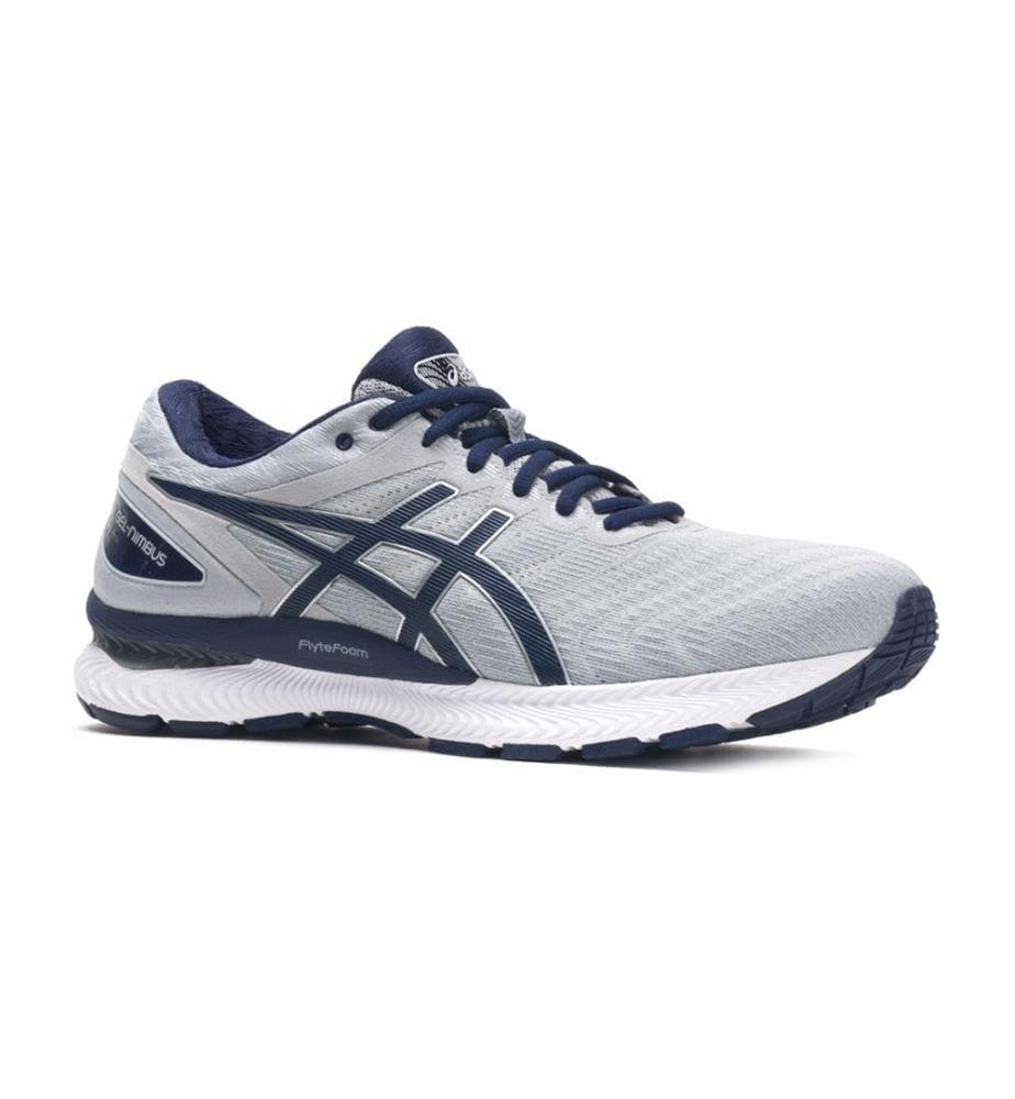 ASICS - Sneakers Gel-Nimbus 22 - Hellgrau und Marinblau