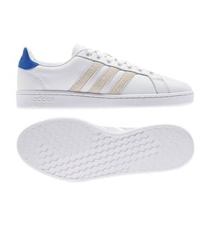 ADIDAS - Sneakers Grand Court - Dunkelblau und Weiss
