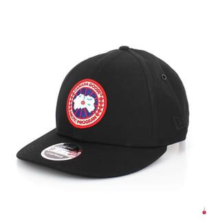 CANADA GOOSE - Basecap Logo, Schwarz