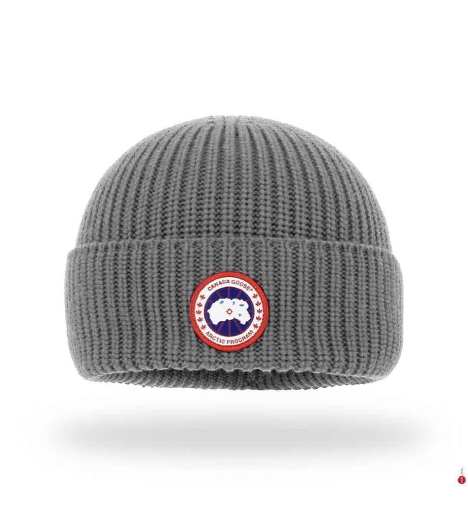 CANADA GOOSE - Merinowollmütze, Grau