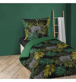 2-Teilige Bettwäschegarnitur Tropic Green - 140 x 200 cm
