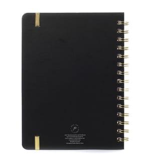 Spiral-Notizbuch BTW - schwarz