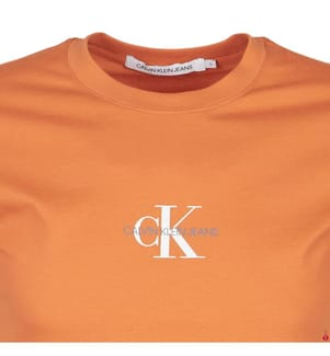 CALVIN KLEIN - T-Shirt Regular Fit - Orange
