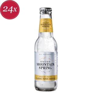 Swiss Mountain Spring Classic Tonic Water - 24 x 20 cl