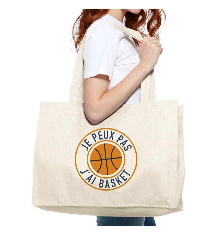 Einkaufstasche - Je Peux Pas J'ai Basket