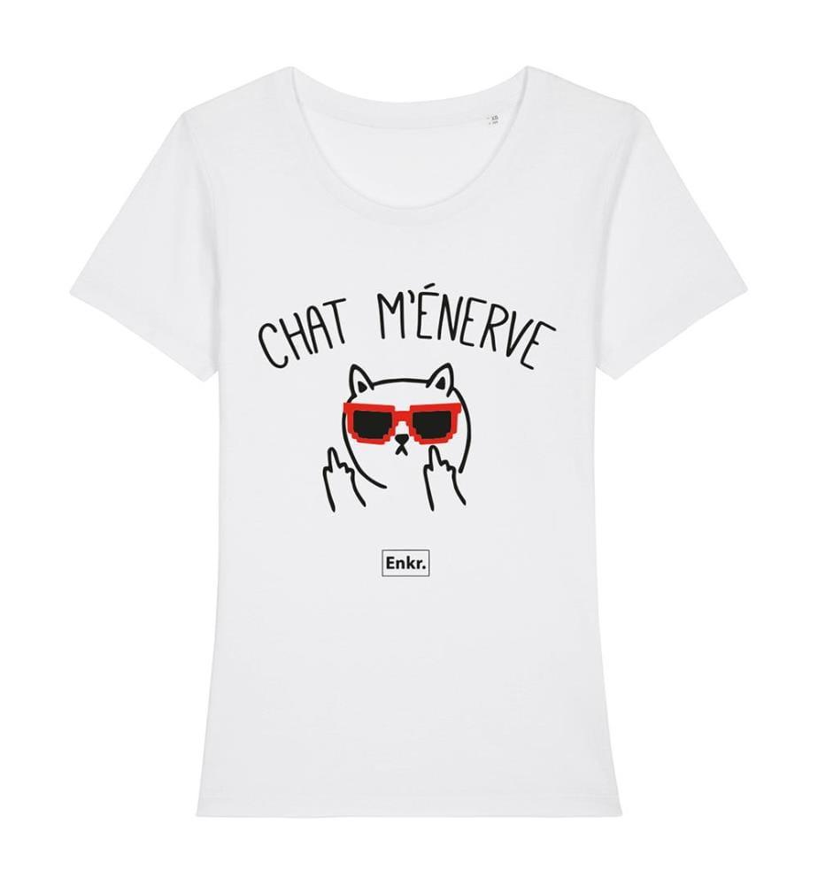 T-Shirt - Chat M'énerve