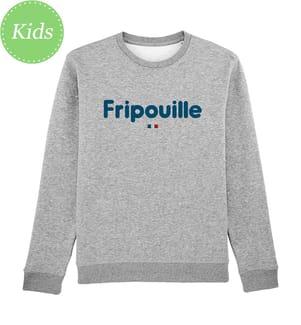 Sweatshirt Fripouille - Grau
