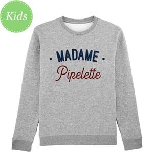 Sweatshirt Madame Pipelette Enkr - Grau