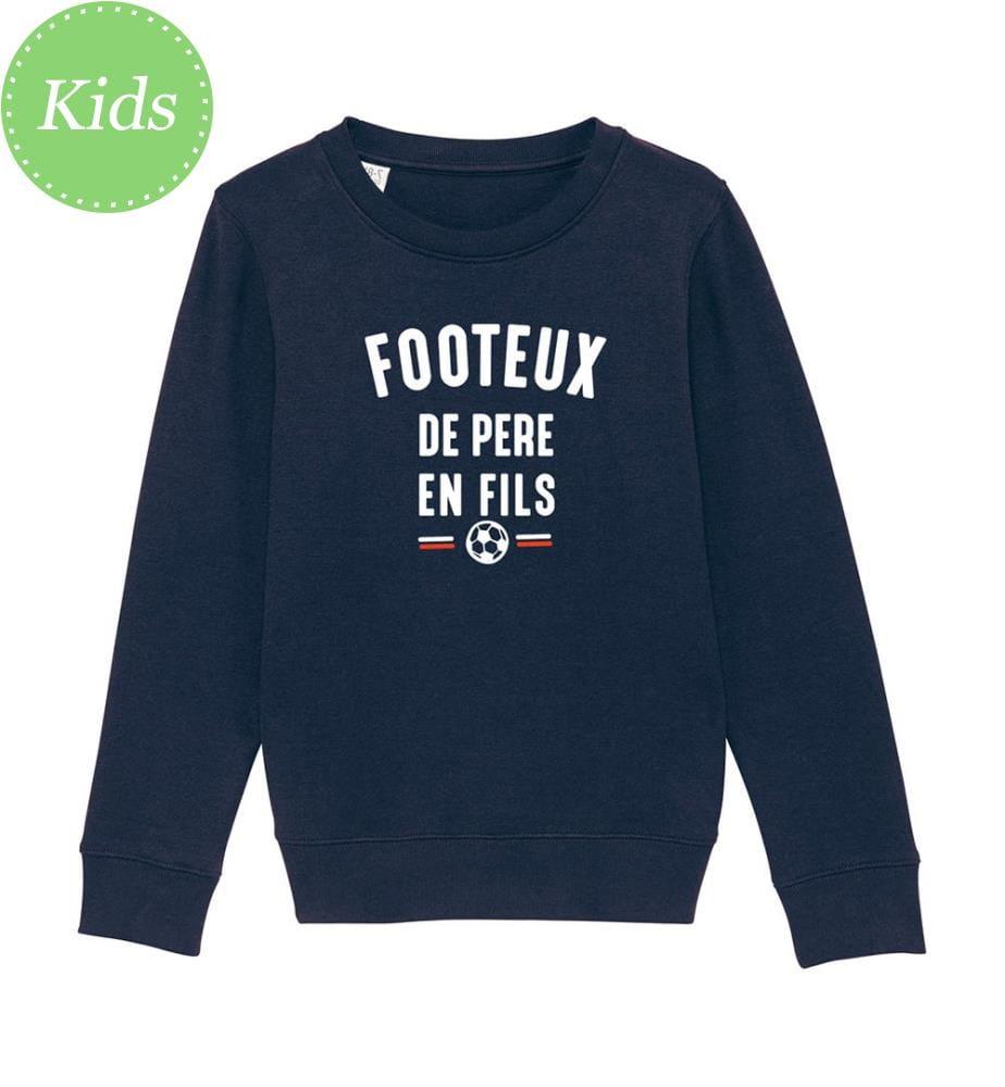 Sweatshirt Footeux De Père En Fils - Marinblau