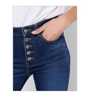 Jeans Nikki Skinny Fit - Blau