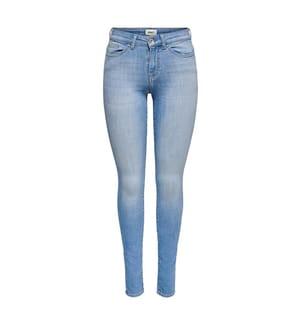 Jeans Life Mid Skinny - Blau