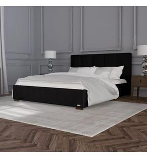 Bettgestell mit Staukasten Allure 158 x 206 x 106 cm (geeignet für eine Matratze von140 x 190 cm) - Schwarz