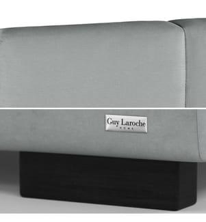 Bettgestell mit Bettrost Fascination 198 x 223 x 106 cm (geeignet für eine Matratze von180 x 200 cm) - Grau