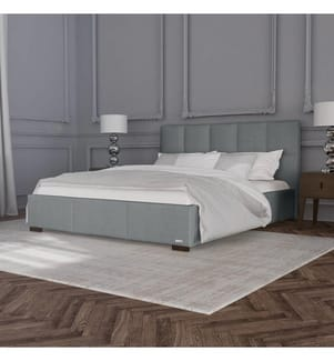 Bettgestell mit Bettrost Allure 178 x 216 x 106 cm (geeignet für eine Matratze von160 x 200) - Grau