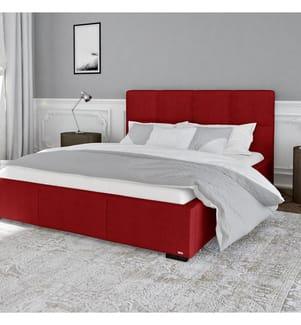 Bettgestell mit Bettrost Fascination 158 x 213 x 106 cm (geeignet für eine Matratze von140 x 190 cm) - Rot