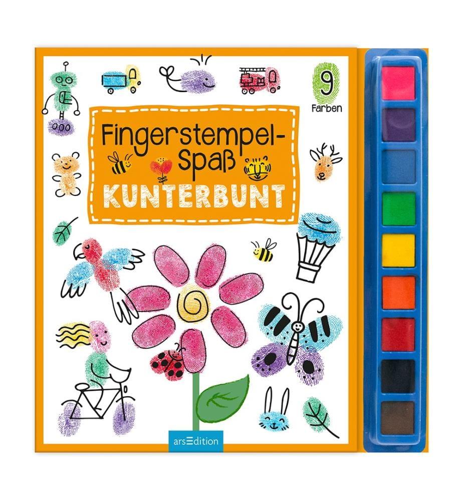 Fingerstempel-Spass Kunterbunt