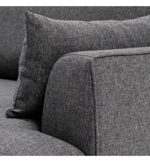 Felix Extra Soft Left Corner Sofa - Dunkelgrau