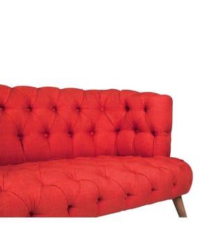 2-Sitzer Sofa West Monroe - Rot
