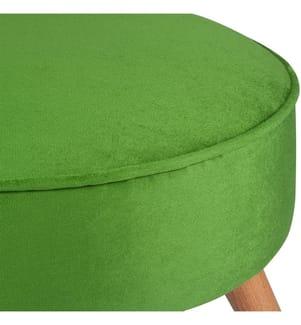 Sitzpouf Boyce - 45 x 45 x 41 cm - Grün