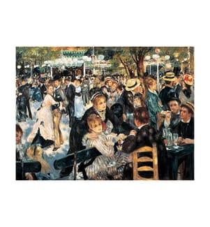 CLEMENTONI - Puzzle Renoir 1000 pcs. Le Moulin de la Galette 69x50cm (14+)