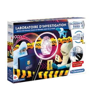 CLEMENTONI - Laboratoire d'investigation F, französische Version (8+)