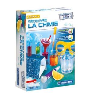 CLEMENTONI - Découvre la chemie F - 8+ (8+)